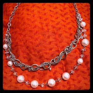 CG double strand necklace